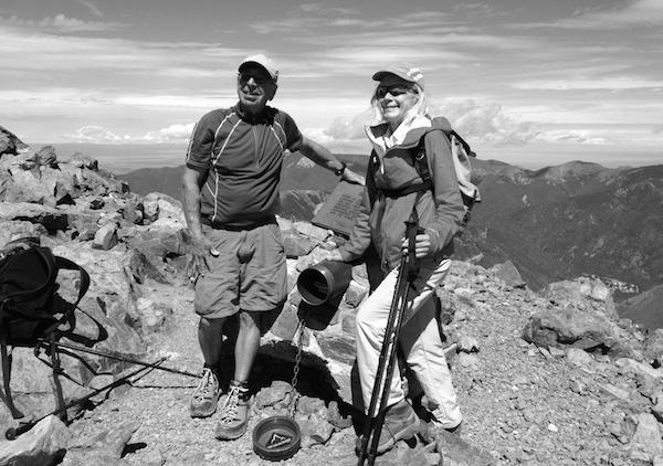Robert J. Silver Wheeler Peak Summit